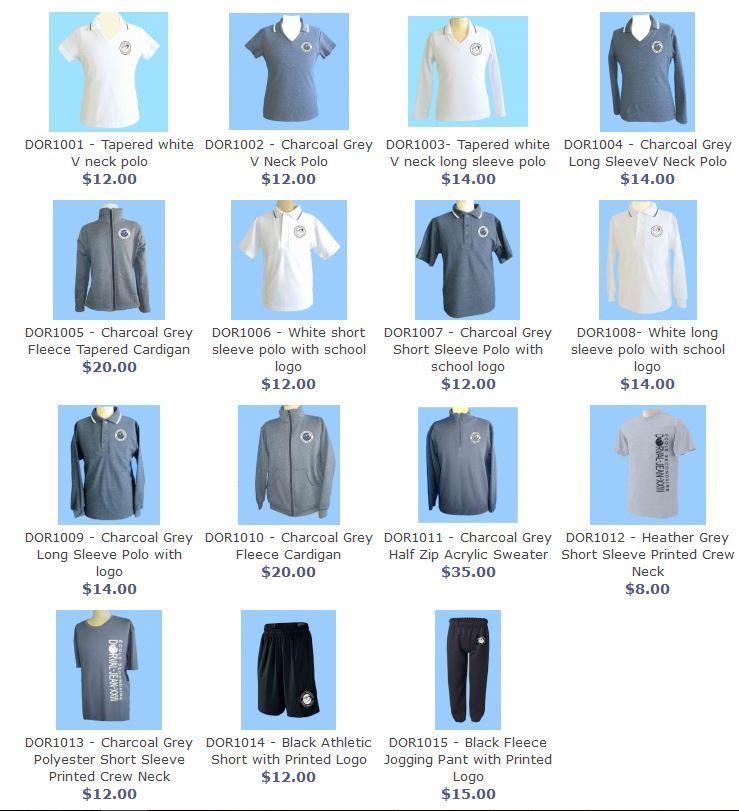 Les demis-uniformes de l école Dorval-Jean XXIII 62bcf24f4b8f8